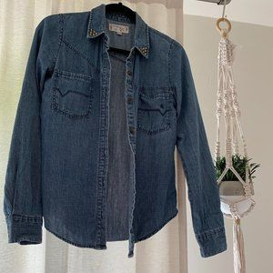 Volcom Denim Shirt, EUS
